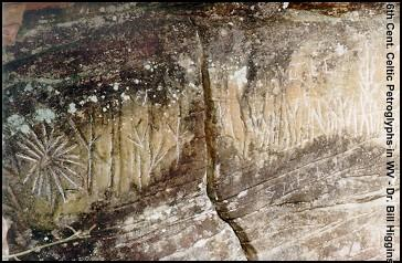 Celtic Petroglyphs in West Virginia