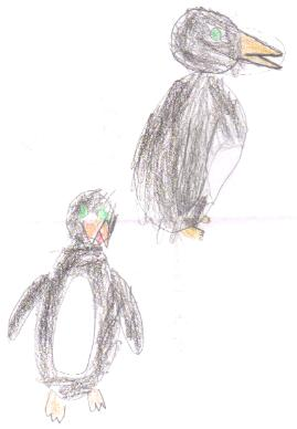 Lilly's Penguins, age 8